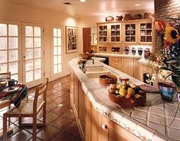 Enchanting Country Kitchen Decor Themes Decorating Choosing The Style Colour And