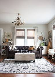 Transitional Living Room Leather Sofa by Best 25 Chesterfield Sofas Ideas On Pinterest Chesterfield