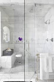 atlanta carrara porcelain tile bathroom traditional with shower