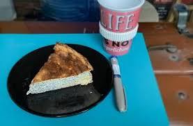 luftiger low carb mohn vanille quark kuchen oder kurz