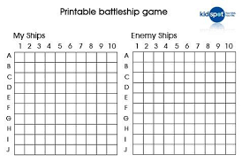 Battleship Prinatbles How To Make Your Own Game