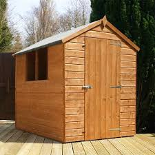 6 X 5 Apex Shed by 7 X 5 Waltons Overlap Apex Wooden Shed Waltons Sheds
