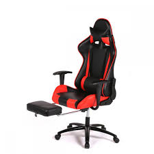 Ebay Antique Barber Chairs by Red Racing Gaming Chair High Back Computer Recliner Office Chair