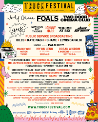 100 Truck Festival Lineup 2629th July 2019 Oxfordshire