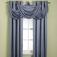 buy odyssey insulating waterfall valance from bed bath beyond bed