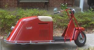 Clean Scooter Just Washed It 1947 Cushman Model 52 And Made In USA