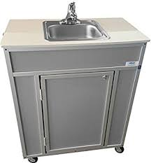 monsam ns 009s nsf certified single basin self contained portable