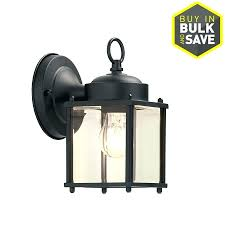 outdoor wall light photocell dusk till lights with security