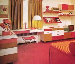 Teens Bedroom Decor 1960s