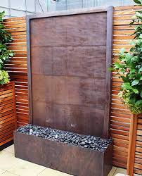 Creative Of Garden Wall Water Features Walls Feature