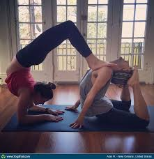 Acro Partner Yoga Taken In New Orleans United States By Alan Rocha