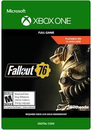 Amazon.com: Fallout 76 - Xbox One [Digital Code]: Video Games