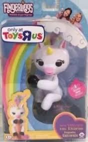 Image Is Loading Gigi White Unicorn Monkey Fingerling Toys R Us