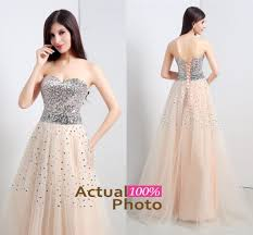 sample champagne a line bling sequins long prom dresses sweetheart