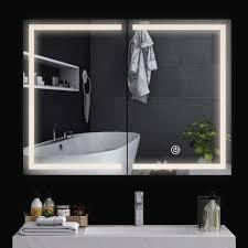 spiegelschrank bad mit beleuchtung spiegelschrank bad badspiegel mit led beleuchtung badezimmerschrank mit steckdose 2 tür schrank für bad