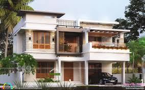 100 Modern Contemporary House Design 4 BHK Modern Contemporary Flat Roof Home In 2019 Kerala