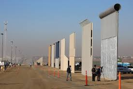 100 Truck Stop San Diego Trump Border Wall Prototypes Completed Prepare For Sledgehammer