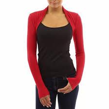 womens fashion long sleeve knit shrug crop top cardigan bolero