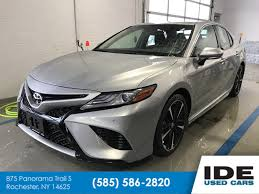 Pre-Owned 2018 Toyota Camry XSE 4dr Car In Rochester #UH6616 | Ide Honda Gmcs For Sale At Oconnor Chevrolet In Rochester Ny Autocom East Coast Toast Food Truck Serves Toast Nissan Titan Lease Prices Finance Offers New York 2015 Maserati Granturismo For In Used Cars Trucks Wenzel Auto Traders Wilberts Parts And Light Collision Center Patrick Buick Gmc Before After 50 Best Pickup Savings From 2139 Enterprise Car Sales Suvs Forklift Used Preowned Cars Trucks Sale