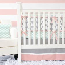 Navy And Coral Crib Bedding by Coral Crib Bedding Charming And Trend Home Inspirations Design