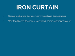 Who Coined The Iron Curtain by Iron Curtain Cold War Quizlet Nrtradiant Com