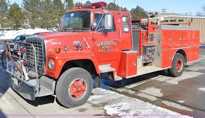 1982 Ford F800 Fire Truck | Item G6415 | SOLD! April 1 Gover...