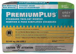 custom premium plus thinset mortar sam s flooring supplies ltd