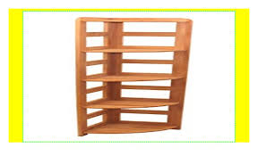 praktisches regal beethoven 168x33x33cm eckregal echtholz