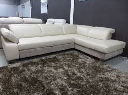 natuzzi editions sample corner sofa bed leather fabric furnimax