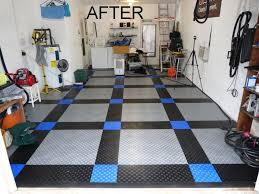 Racedeck Flooring Vs Epoxy by Garage Floor Tiles Vs Epoxy Paint Garage Floor Designs Garage