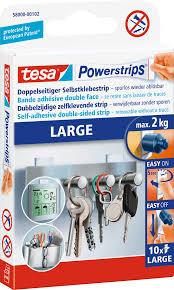 powerstrips large für maximal 2 kg 10 st