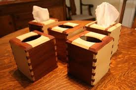 Christmas Gift Tissue Boxes