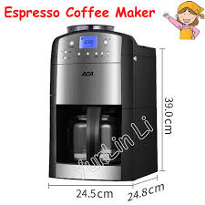 Automatic Grinding Coffee Machine 125L Home Office Maker Ground Beans Insulation