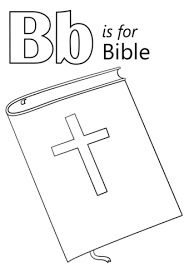 Click To See Printable Version Of Letter B Is For Bible Coloring Page