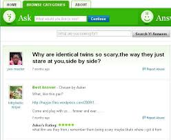 Im Pretty Sure That We All Have Some Kind Of Strange Almost Instinctual Hunch Twins Are Not To Be Trusted