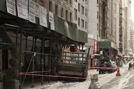 truck slams into back of suv in midtown injuring driver ny