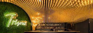 100 Wooden Ceiling Parametric Trisoux Bar By Martino Hutz