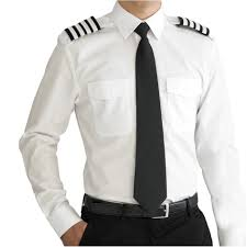 Aviator Wing Desk Uk by V One Mens Pure Cotton Airline Pilot Shirt Long Sleeve Slim Fit