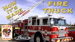 How It's Made | Fire Truck - YouTube Monster Truck Toy And Others In This Videos For Toddlers 21 Fire Engines Responding Best Of 2014 Youtube Vs Crazy Dinosaur Future Rescue Power Wheels Race Policeman Sidewalk Cop Vs Fireman Tow Children Tows A Car After Big Song Little Red Cartoon Videos For Kids Animal Video Youtube Shark Stunts S Lego City 60061 Airport Fire Truck Review Ultimate On Compilation 1 Hour Trucks The Hour Compilation Incl Ambulance