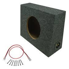 100 Truck Subwoofer Box Single 12 Sealed Regular Cab Bass Speaker