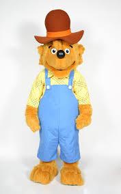 Berenstain Bears Halloween Book by Berenstain Parents Character Visit Costume Rental Custom
