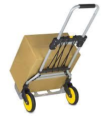 100 Hand Truck Vs Dolly MountIt HeavyDuty Folding And Luggage Trolley