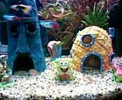 Spongebob Fish Tank Accessories by Spongebob Squarepants Tank Youtube