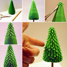 How To Make A Christmas Tree Topper With Fondant Icing More