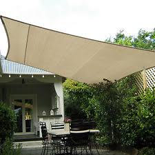 Waterproof Shade Sail Awnings Canopies & Tents
