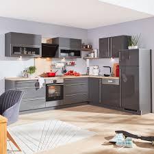 eckküche nolte grau