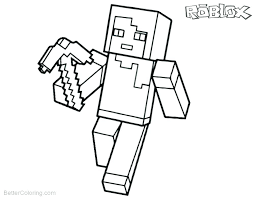 Minecraft Color Pages Creeper Coloring Page Download This Mutant