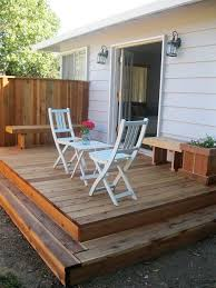 Patio And Deck Combo Ideas by Best 25 Small Deck Patio Ideas On Pinterest Small Decks Small