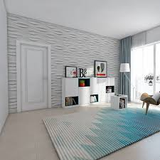pvc material 3d wall tiles for interior wall pack of 12 19 7in x