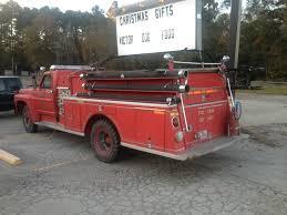 1968, Ford, F-700, Fire Truck